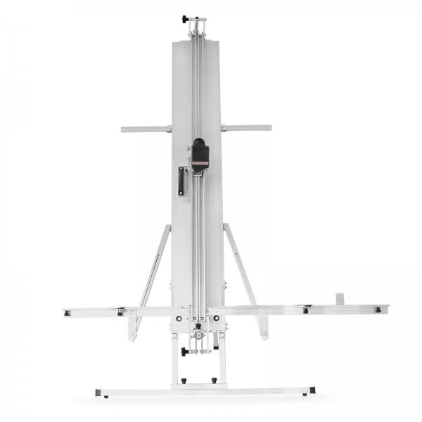 Der ISO-PROFI Dämmstoffschneider inkl. Koffer, Akku-Dämmstoffsäge + seitliche Ständer (optional)