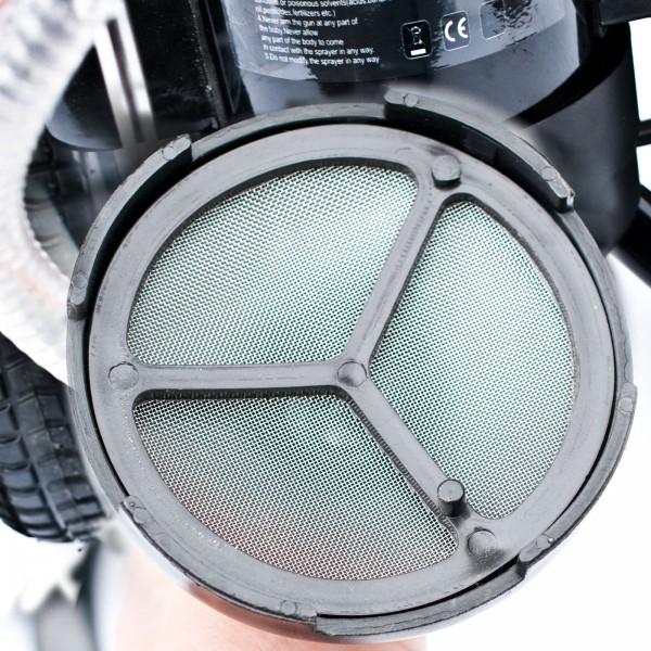 Ansaugschlauch mit Korb für das BAUTEC Farbsprühgerät