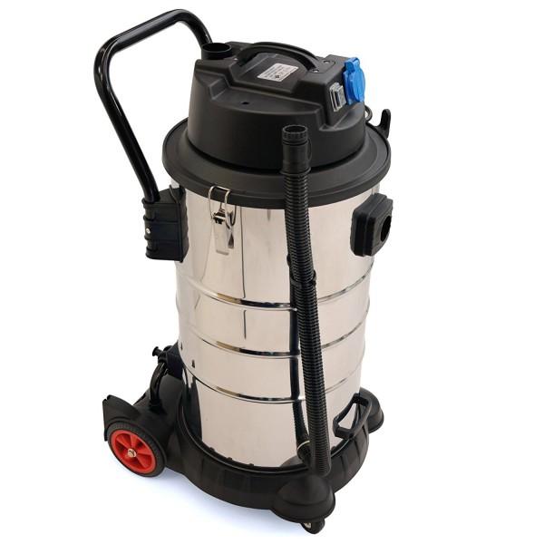 BAUTEC Industriesauger 60 Liter | 1400 W | Nasssauger | Trockensauger
