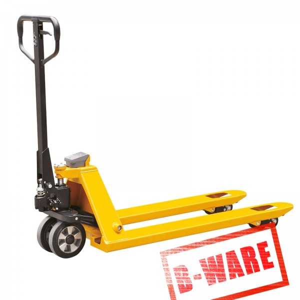 B-Ware Profi Hubwagen mit Waage Rückläufer