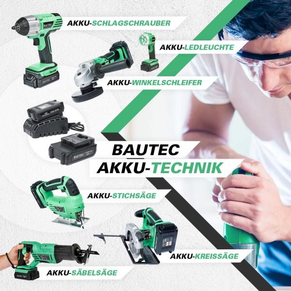 BAUTEC Akku Geräte Solo